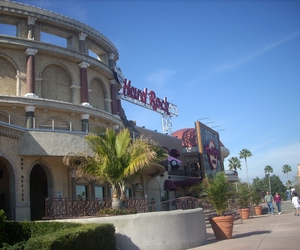 cafe, hard rock, and sky image