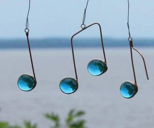 music and blue image