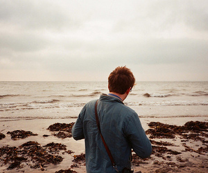boy, beach, and photography image