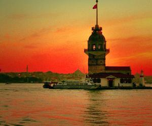 istanbul, sea, and sunset image