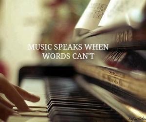 beautiful, music, and speaks image