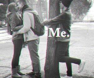 couple, couples, and forever alone image