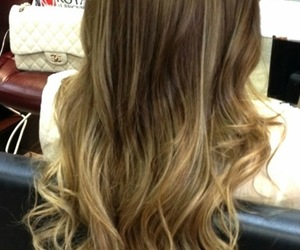 hair, long hair, and ombre hair image