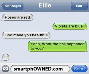 funny, text message, and ellie image