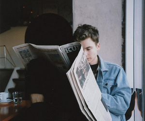 boy, vintage, and indie image
