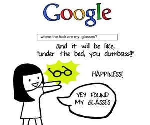 funny, google, and quote image