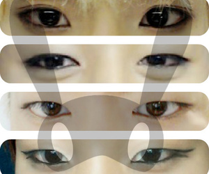 eyes, b.a.p, and bang yong guk image