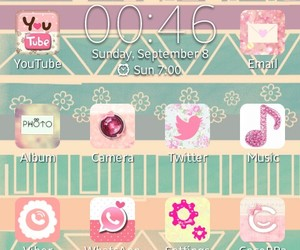 android, icon, and pink image