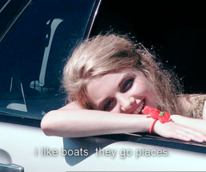 skins, cassie, and boat image