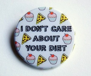 brooch, yep, and don't care image