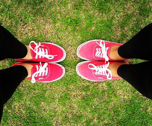 friendship, me, and red image