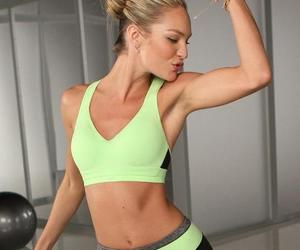 fitness, candice swanepoel, and body image
