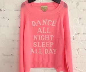 dance, pink, and sleep image