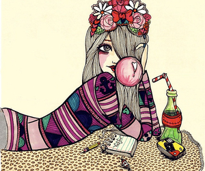 girl, smile, and valfre image