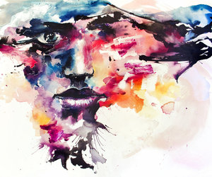 colourful, face, and agnes cecile image