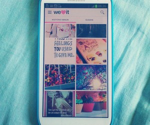 samsung and weheartit image