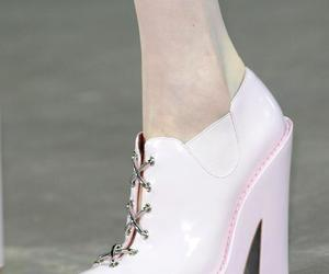 alexander wang, light pink, and runway image