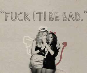 bad girls, fuck it, and life image