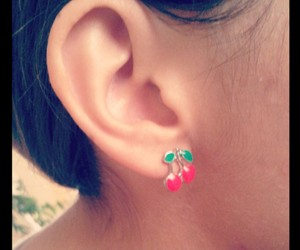 ear, pacha, and earring image