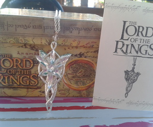 arwen, lord, and necklace image
