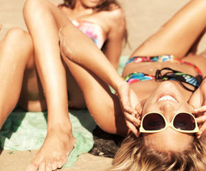 fashion, smile, and summer image