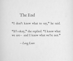 quotes, the end, and end image