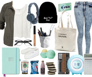 eos, outfit, and Polyvore image