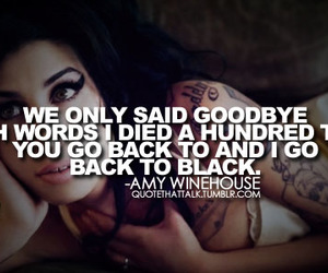 amy, miss you, and back to black image