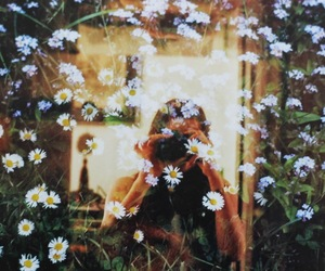 double exposure, indie, and garden image