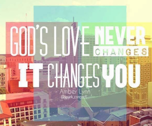 god, love, and colors image