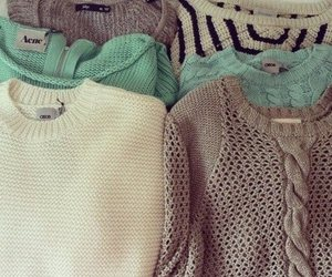 cold, cuddle, and sweater image