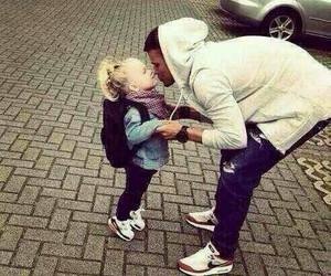 dad, girl, and cute image