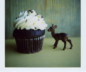 cupcake, deer, and cute image