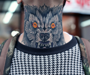 boy, tatoo, and monster image