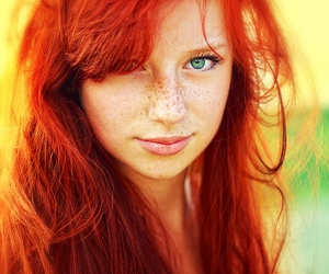 redhead, red hair, and red image