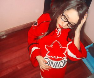 canadian, girl, and separated with comma image