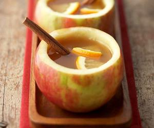 apple, Cinnamon, and drink image