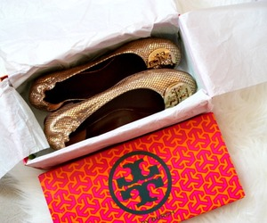 shoes, fashion, and tory burch image