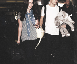 manip, lily collins, and liam payne image