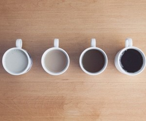 coffee, milk, and hipster image