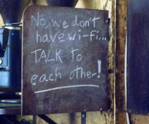 conversation, date, and wi-fi image