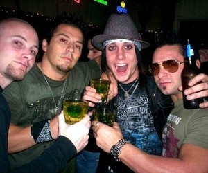 avenged sevenfold, synyster gates, and johnny gera image