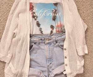 california, cute, and outfit image