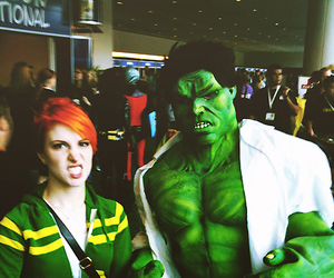 hayley williams, paramore, and Hulk image