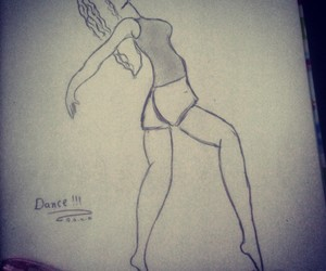 dance, pencil, and بنات image