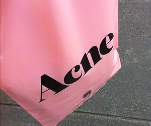 pink, acne, and bag image