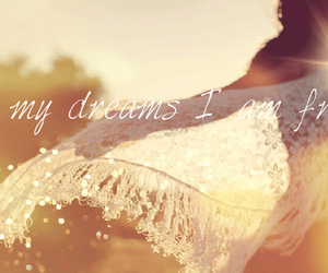 Dream and girl image