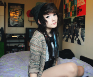 emo, goth, and Piercings image