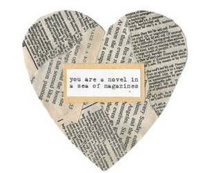 quotes, heart, and novel image