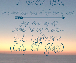 quote, the mortal instruments, and city of glass image